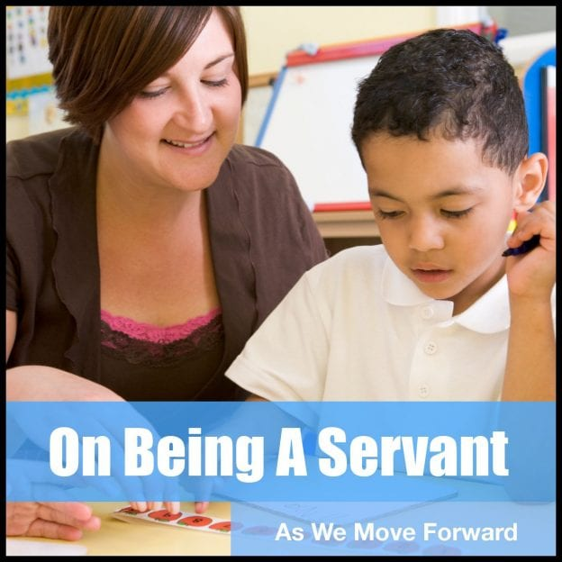 On Being A Servant