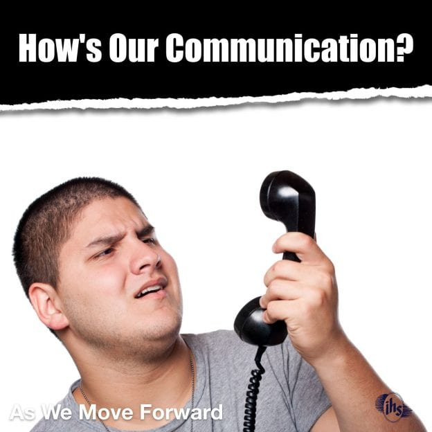 How's Our Communication?